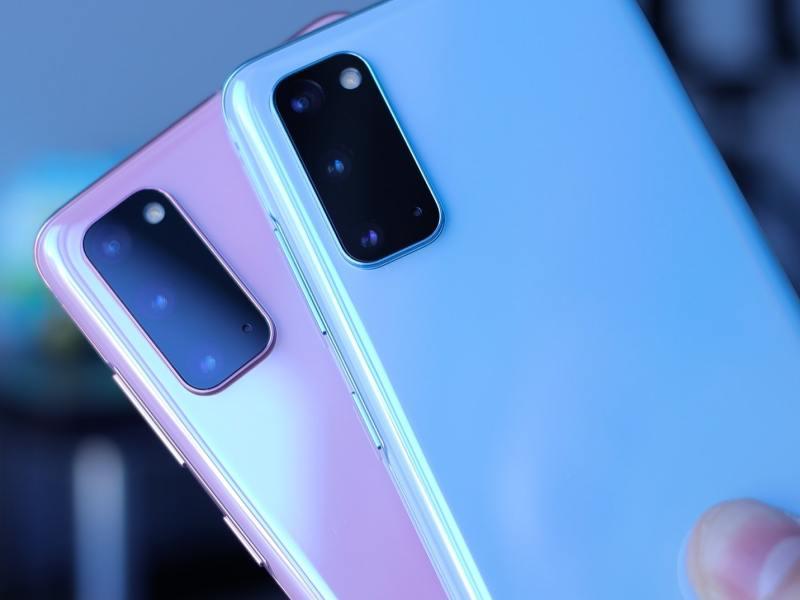 Samsung Galaxy S20 Pink Blue Header Daniel Romero Lhc1gg Qira Unsplash