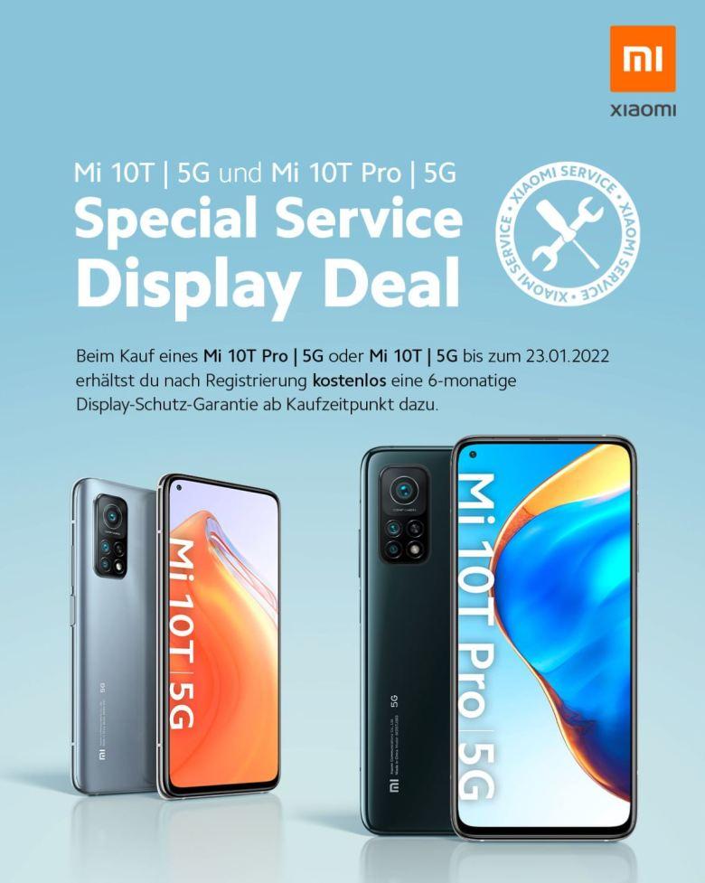 Xiaomi Mi 10t Displayreparatur