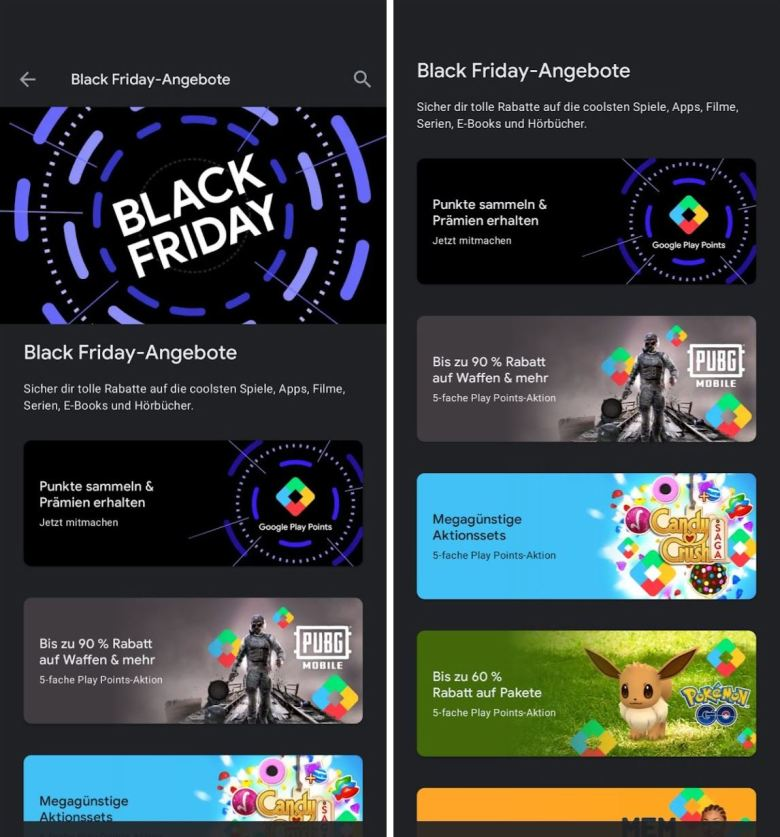 Black Friday Play Store 2020