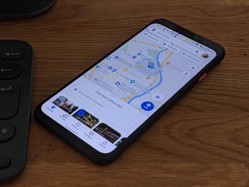 Google Maps Head