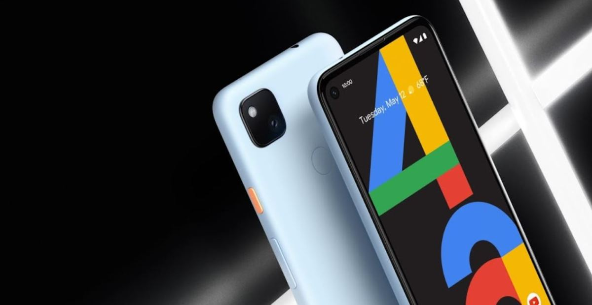 Google Pixel 4a Blau