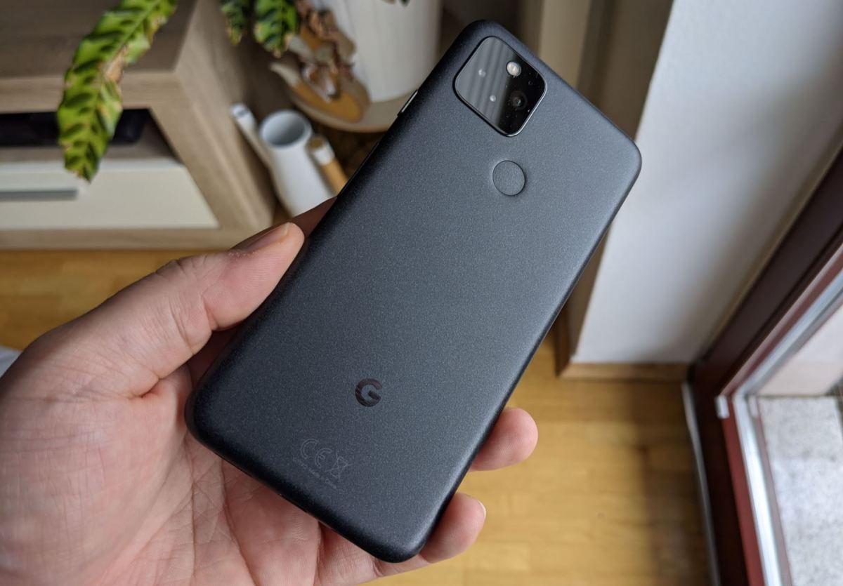 Google Pixel 5 Testbericht Rückseite 2
