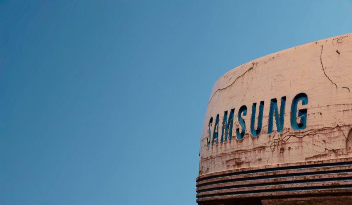 Samsung Logo Head