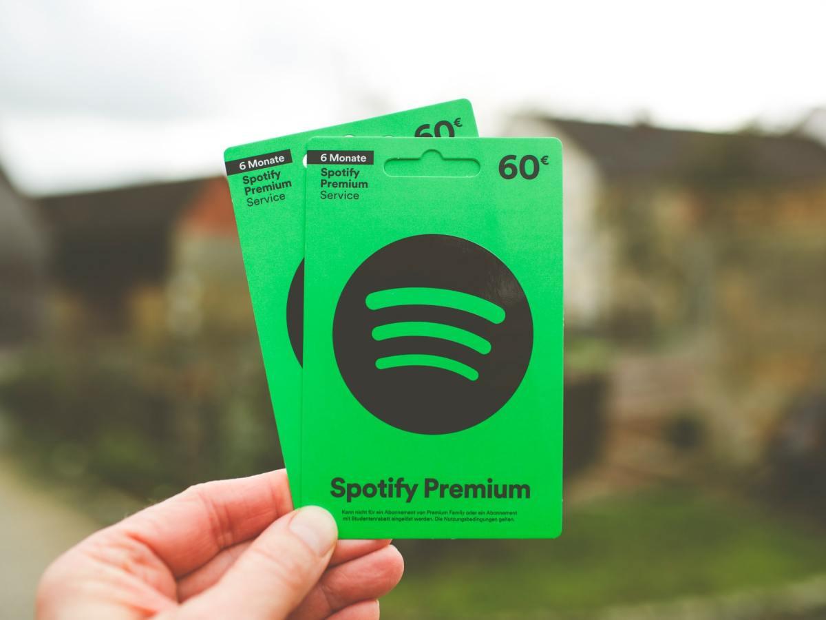 Spotify Premium Karten Markus Spiske Op252bbynbs Unsplash