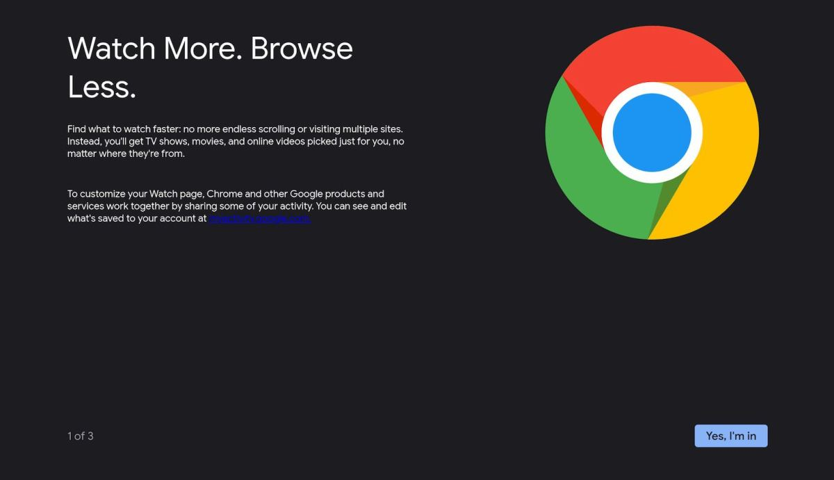 Google Tv Chrome