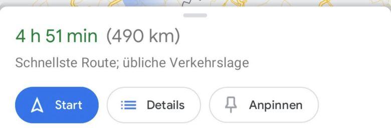 Route Erstellen Und Anpinnen Google Maps