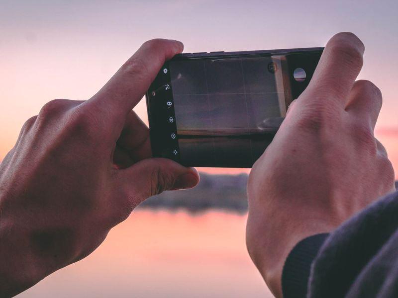 Smartphone Kamera Head