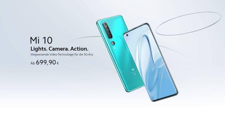 Xiaomi Mi 10 Europreis Deutschland