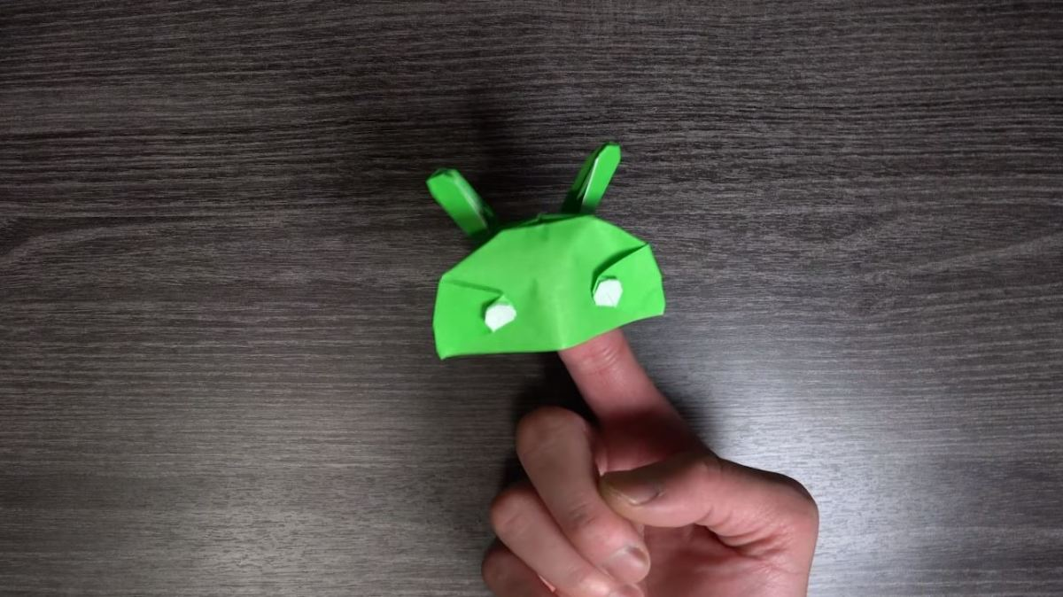 Android Head Origami