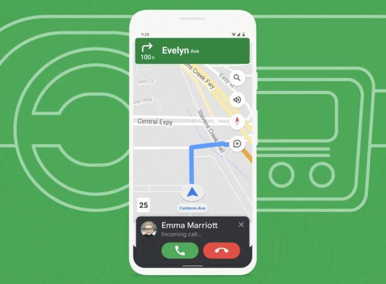 Fahrmodus, Google Assistant Driving Mode