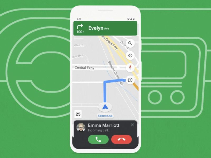 Fahrmodus, Google Assistant Driving Mode