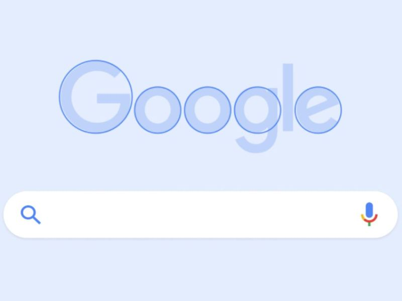 Google Logo Rundes Design