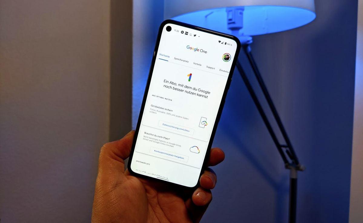 Google One App Head