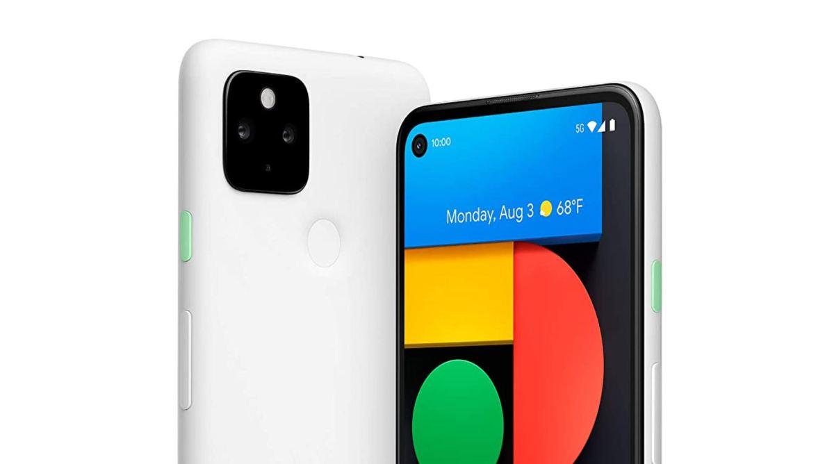 Google Pixel 4a Mit 5g In Weiß
