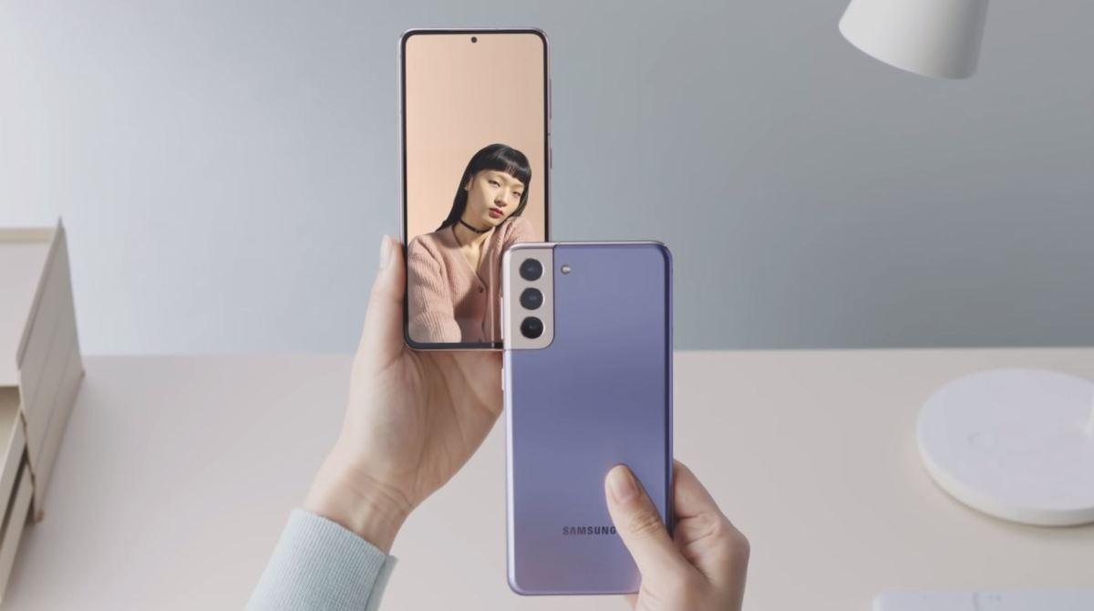 Samsung Galaxy S21 Head 2