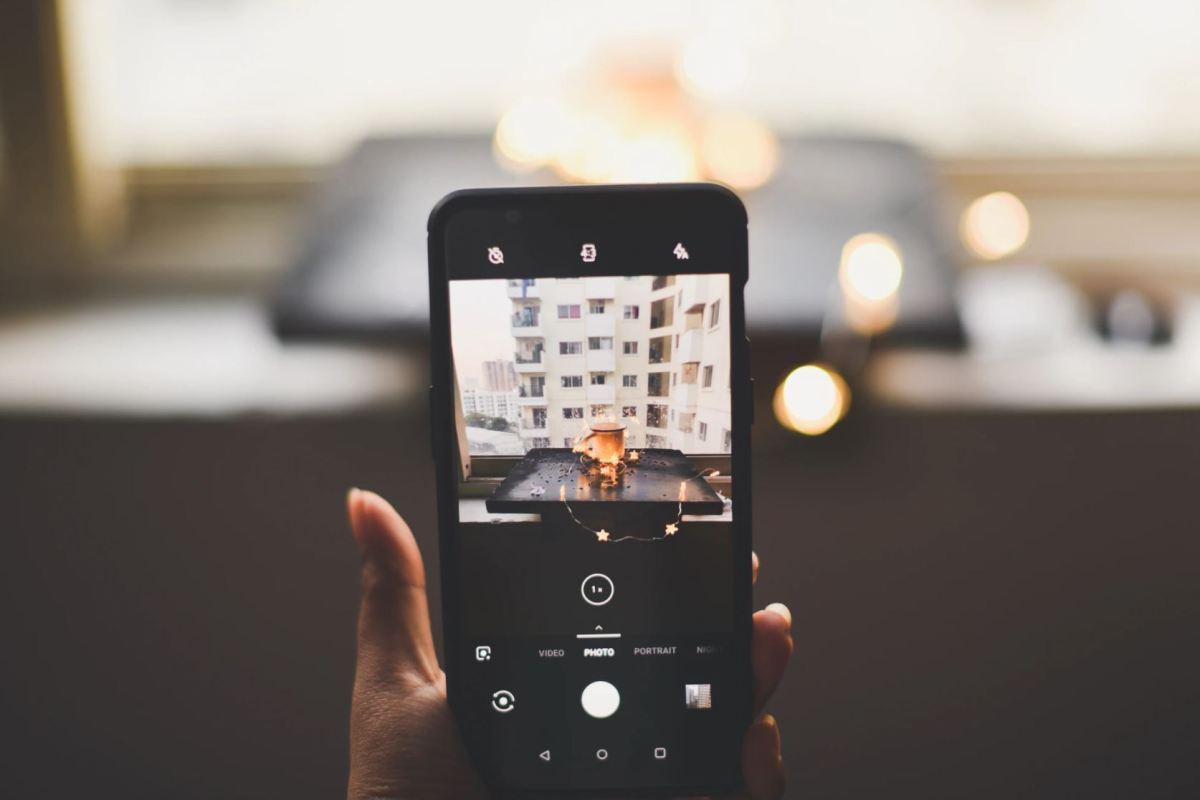 Smartphone Kamera App Head