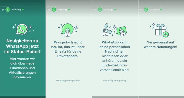 Whatsapp Erster Status