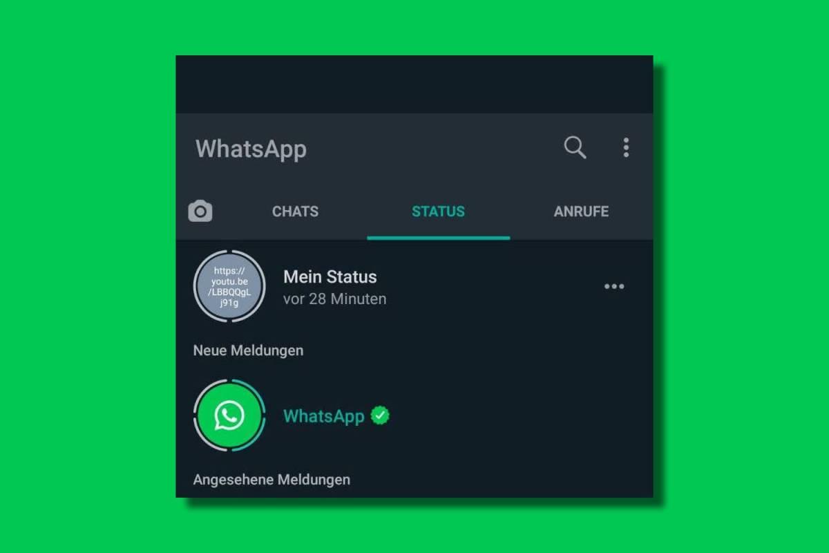 Whatsapp Im Status Reiter