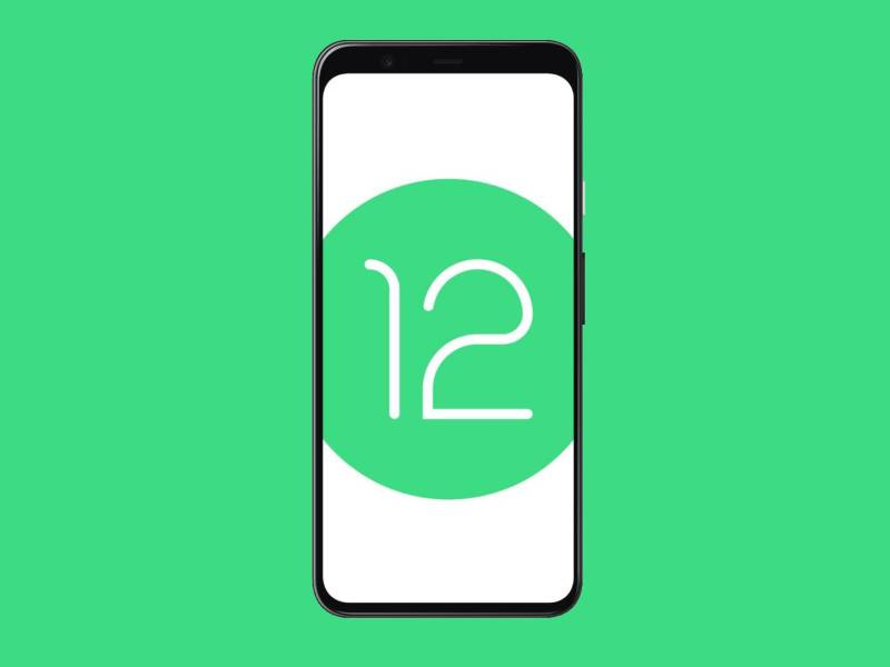 Android 12 Pixel 4 Head