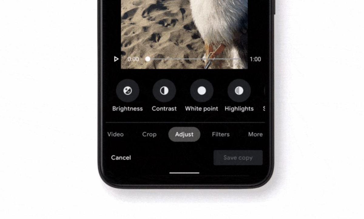 Google Fotos Videoeditor Update Feb 2021