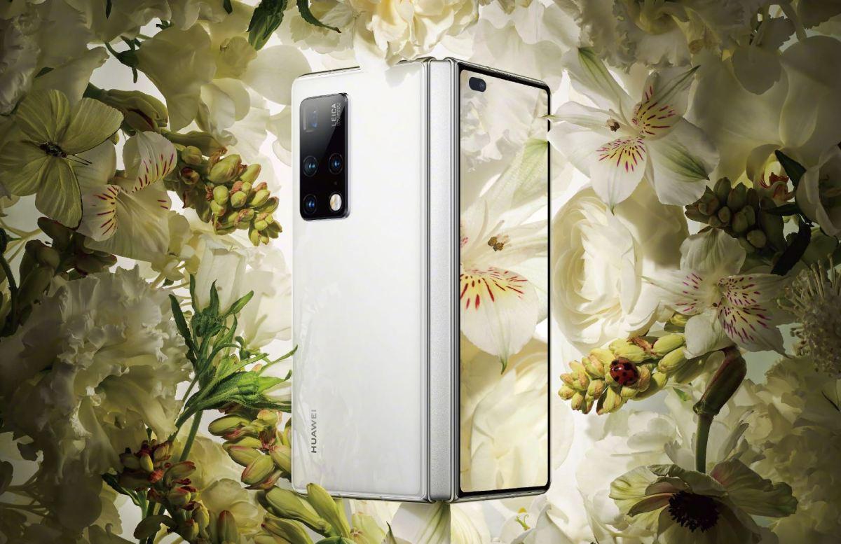 Huawei Mate X2 Offen