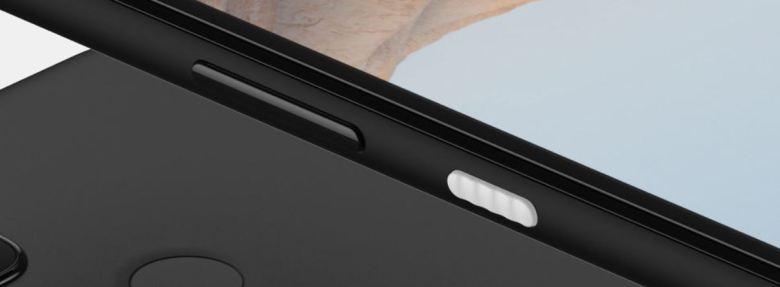 Pixel 5a Einschalttaste Leak