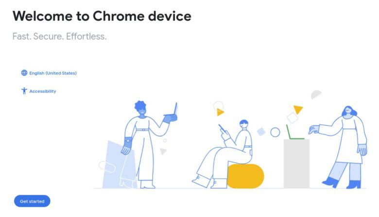 Welcome Chrome Device