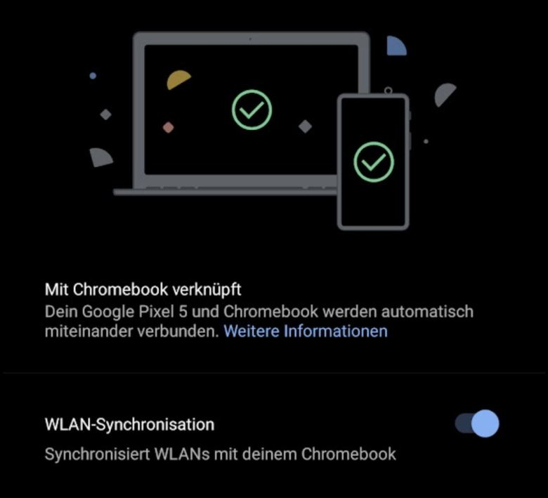 Wlan Sync Chromebook Android