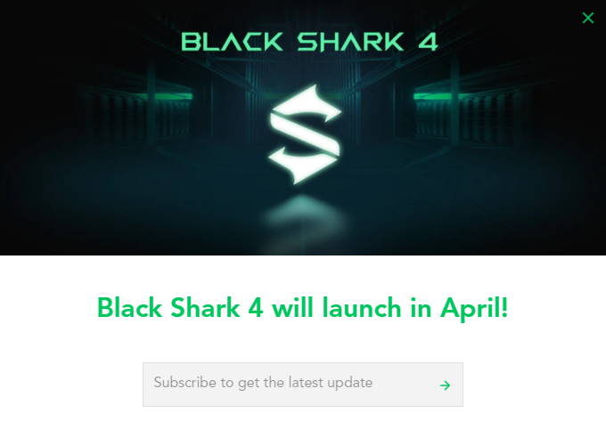 Black Shark 4 Launch April