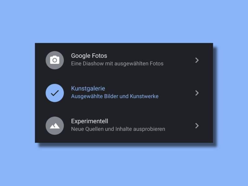 Google Home Inaktivmodus Optionen