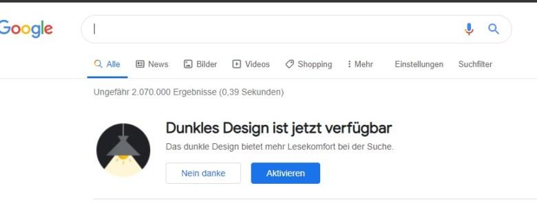 Google Suche Darkmode (2)