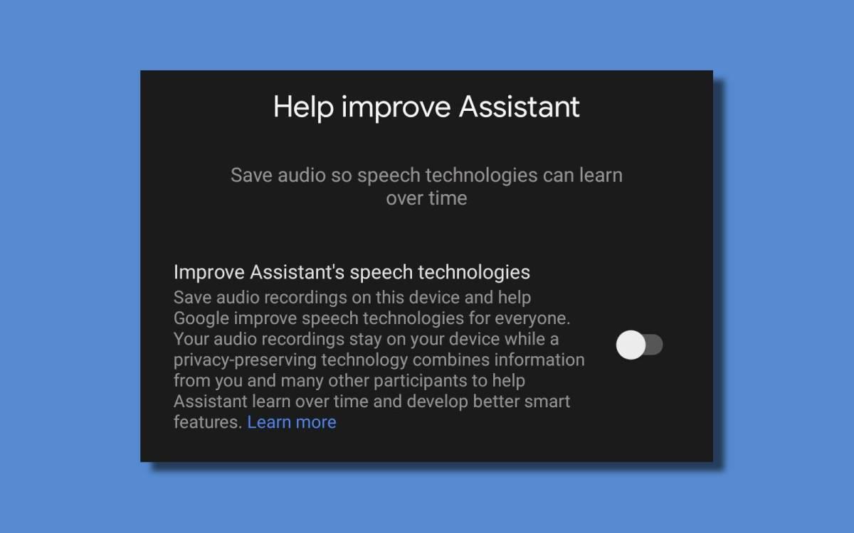 Help Improve Assistant