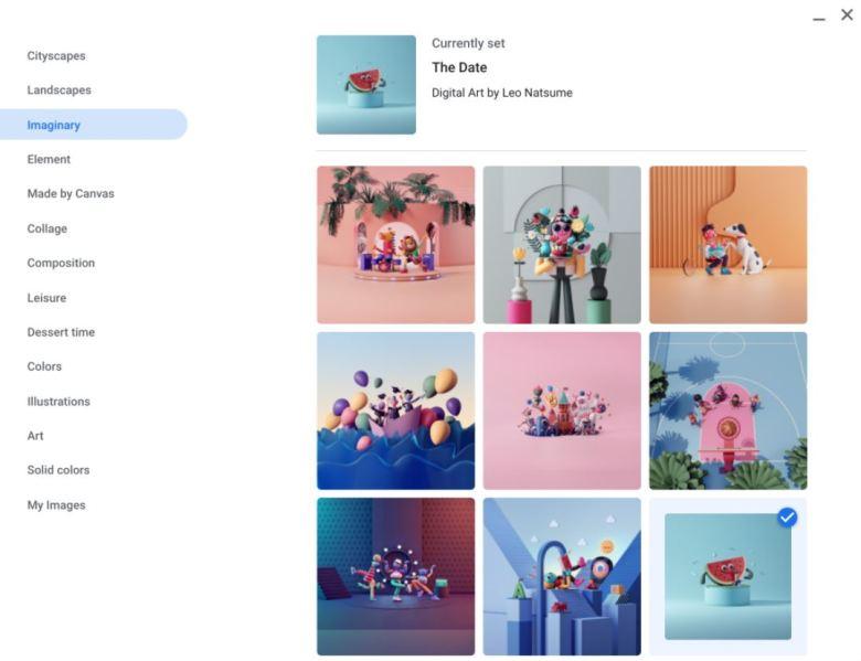 Imaginary Kollektion Wallpaper Chrome Os