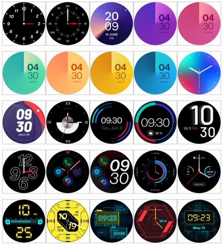 Oneplus Watch Watchfaces