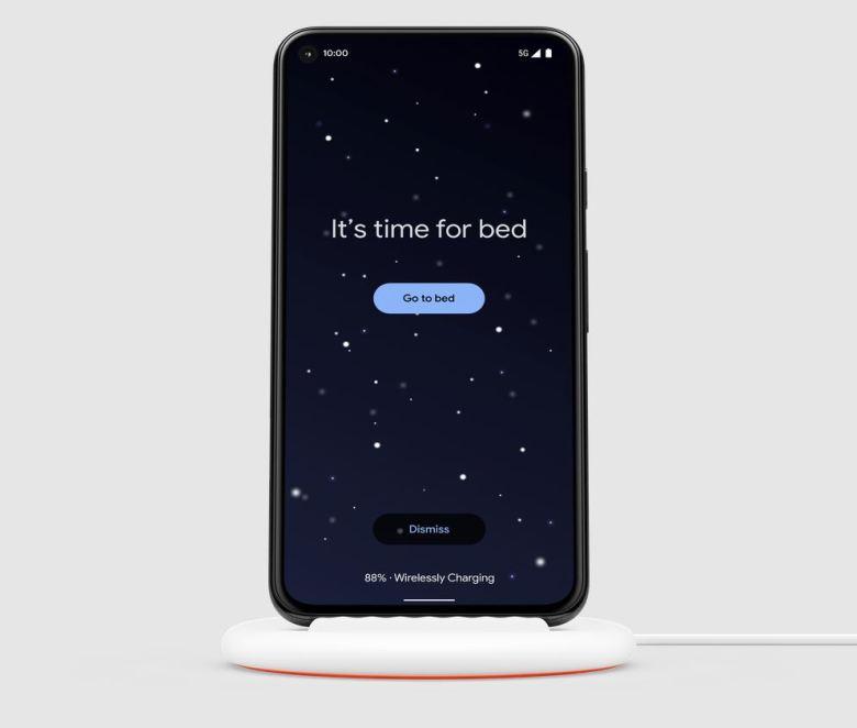 Pixel Stand Schlafenszeit