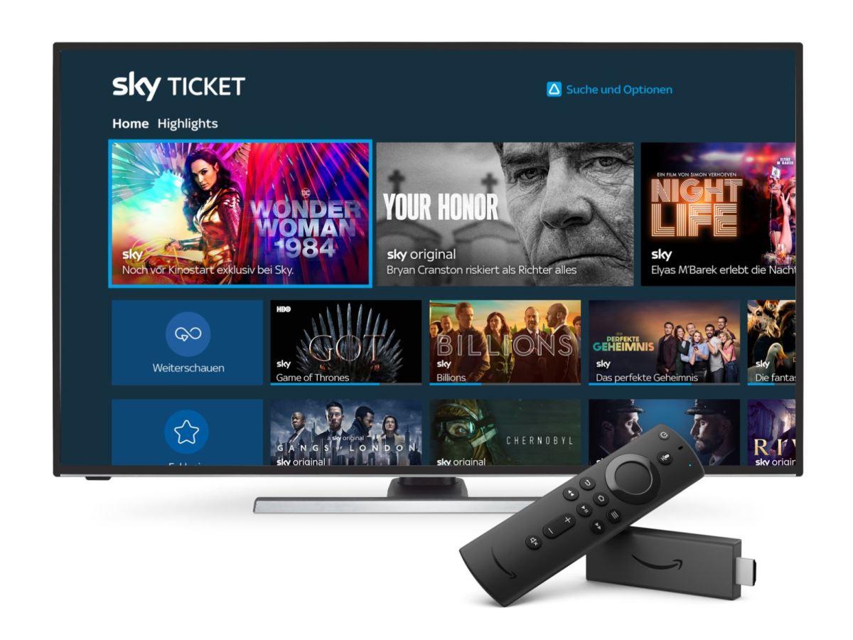 Sky Ticket Amazon Prime Video