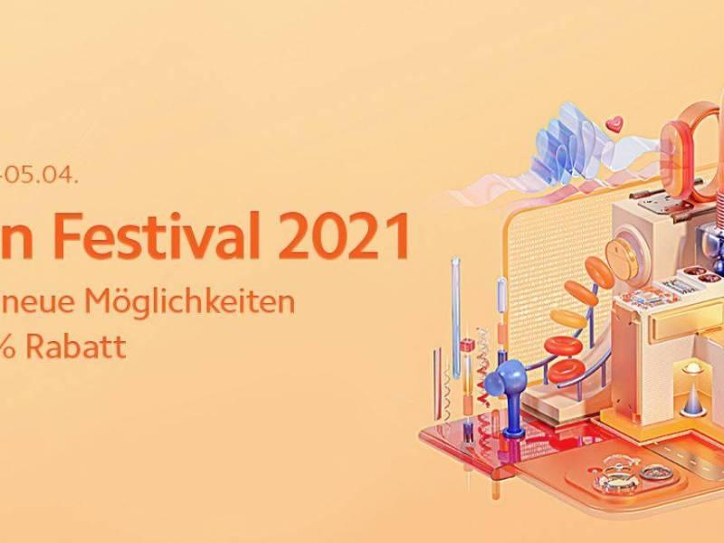 Xiaoimi Mi Fan Festival Ostern 2021