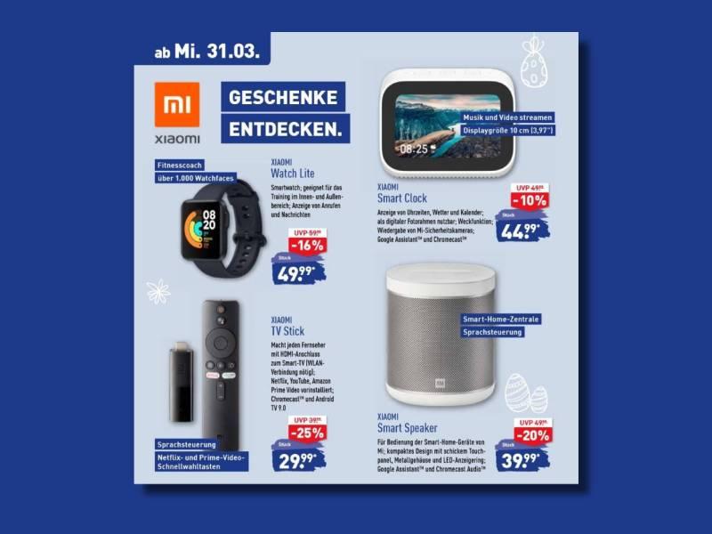 Xiaomi Aldi Angebote 31 März 2021 Prospekt Preischeck