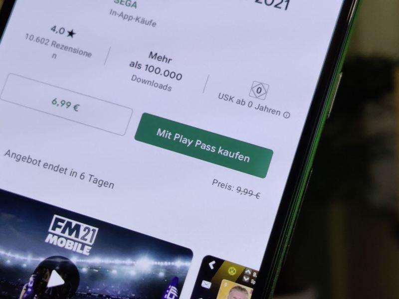 Mit Google Play Pass Kaufen