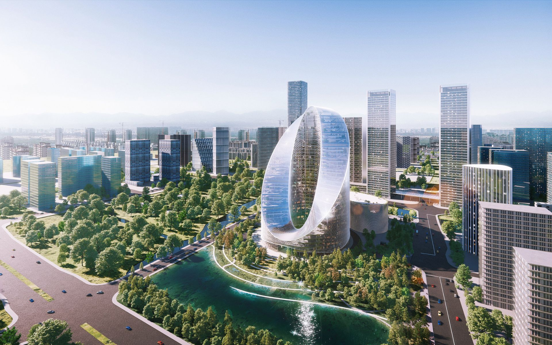 Oppo O-Tower: Eindrucksvolles Gebäude auf den Spuren von Apple und Amazon