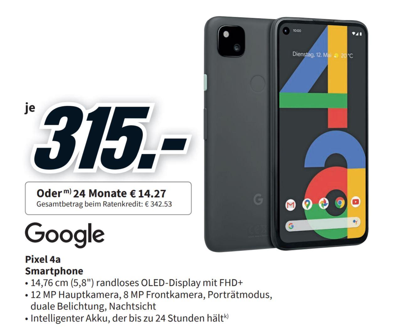 Google Pixel 4a im Preis gesenkt - was taugt der Tiefpreis?