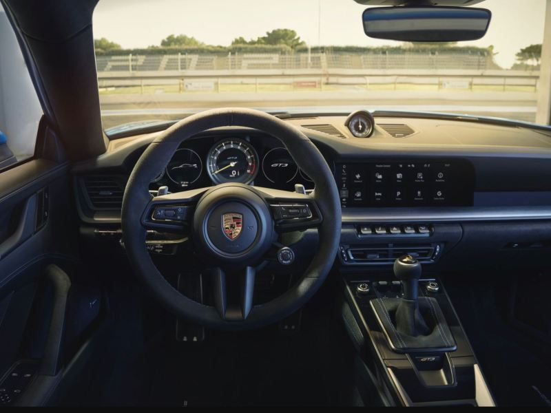 Porsche 911 2022 Innenraum