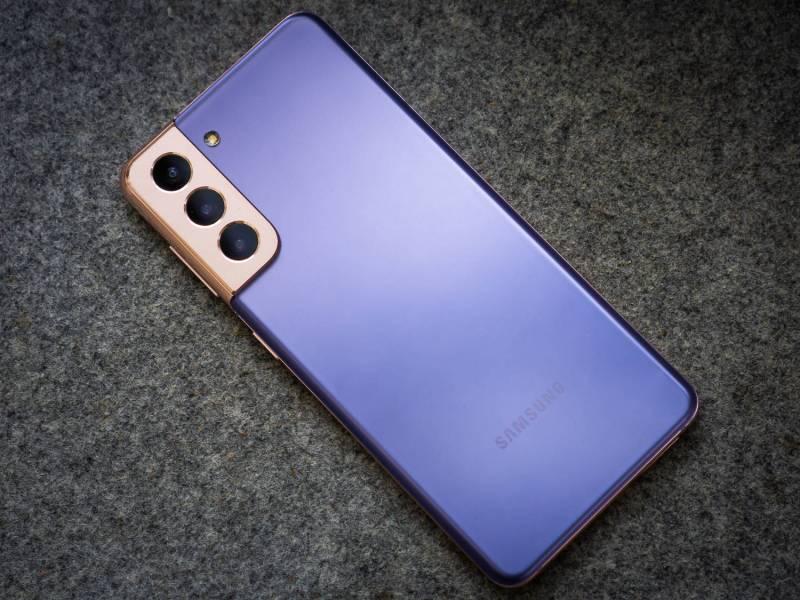 Samsung Galaxy S21 Phantom Violet 5