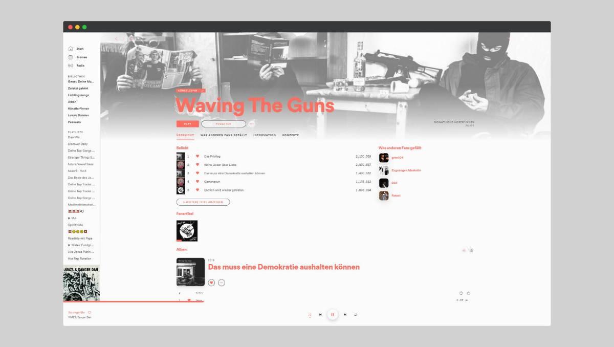 Spotify Spicetify Design Header