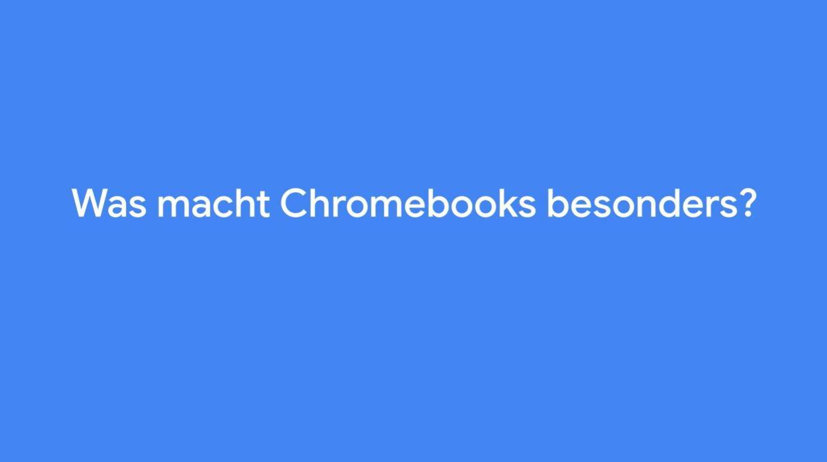 Was Macht Chromebooks Besonders