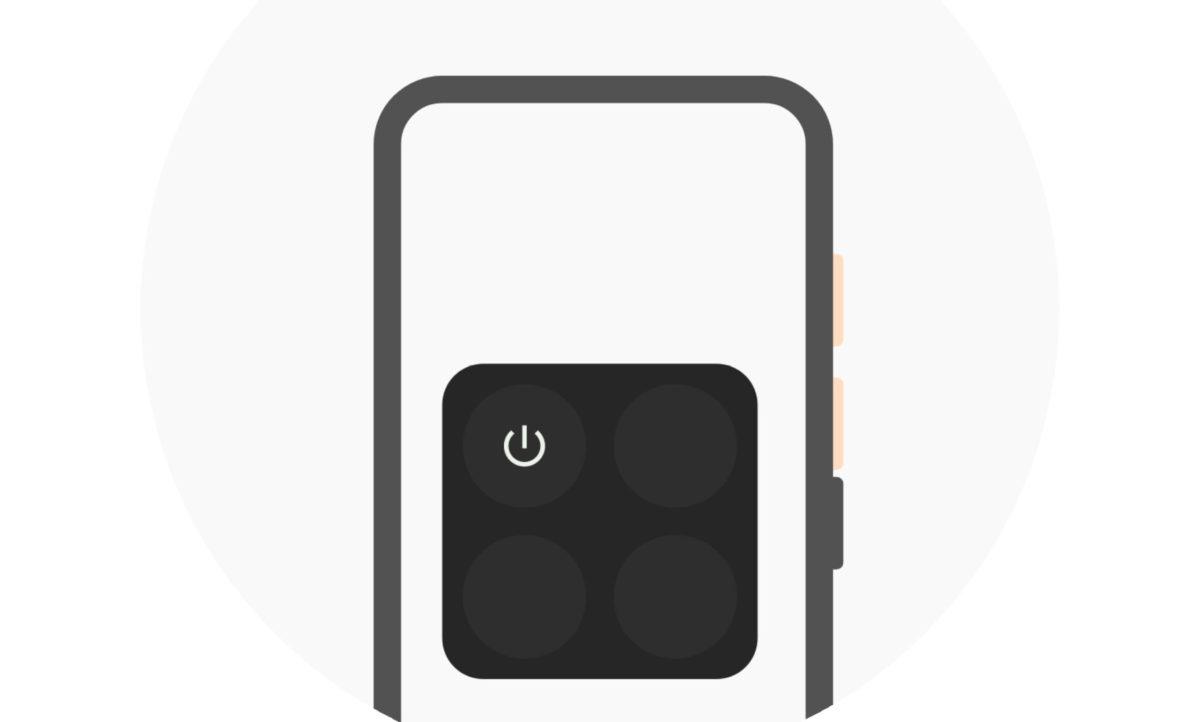 Android 12 Einschalttaste