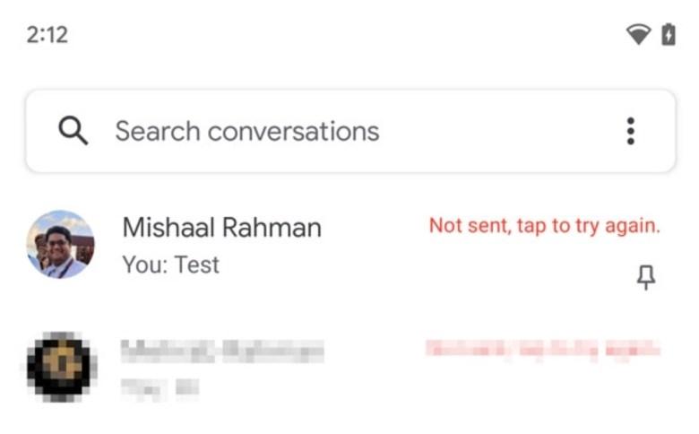 Google Messages Pin Chatliste Leak