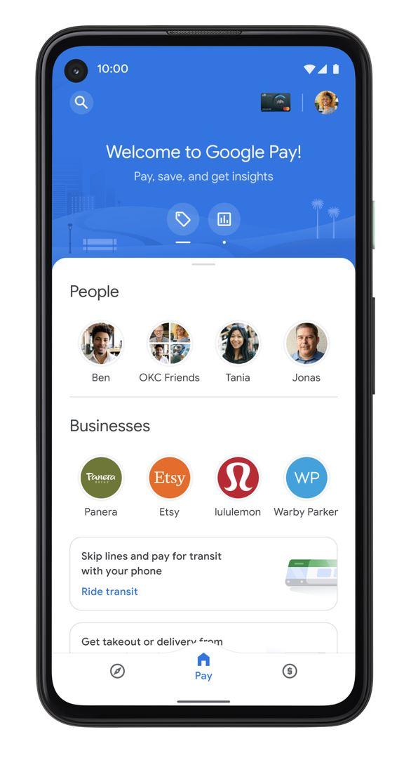 Google Pay Transit Tickets Startseite
