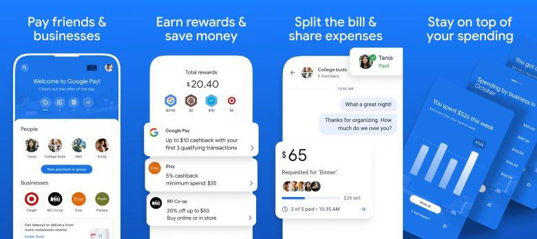 Google Pay Übersicht Funktionen