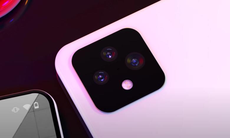 Pixel 6 Kamera Mockup